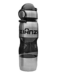 Faxianzhe 650ml Black Plastic Warm Keeping Cycling Water Bottle
