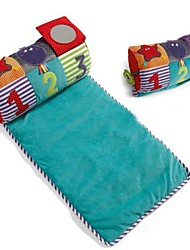 Baby Infant Sleeping Gaming Hoot Striped Knitted Pram Cot Crib Moses Blanket