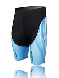 XINTOWN Unisex The High Quality Terylene Cushion Cycling Shorts—Black+Blue