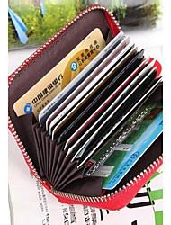moda homem / mulher card 's& ID titulares presentes da promoção caso de carteira