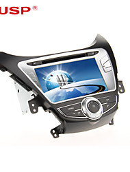 CUSP® 8 Inch 2Din Car DVD Player for HYUNDAI ELANTRA/AVANTE /I35 2011-2013 Support GPS,BT,RDS,Game,iPod