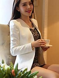 Women's Round Puff Sleeve Blazer