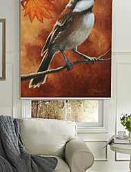 Contemporary Bird Roller Shade