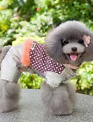животное моды милые яркий цвет соединяется пальто для домашних животных собак (разные цвета, размеры)