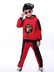 Boy's Fashion Classical Joker Spider Man Two Piece Clothing Set