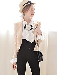 Pink Doll® Women's Tailor Collar Asymmetrical Elegant OL Blazer