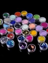 36 Manucure Dé oration strass Perles Maquillage cosmétique Manucure Design