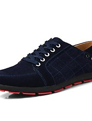 Scarpe da uomo Casual Di pelle Sneakers alla moda Nero/Verde/Grigio
