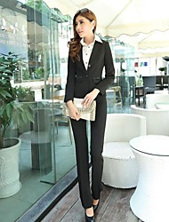 Women'S Long Sleeved Occupation Suits (Blazer And Trouser)