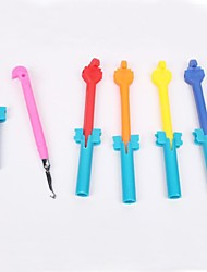 crochet baoguang®rainbow couleur métier d'alliage (de couleur aléatoire)