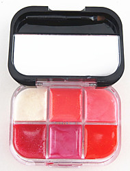 Gloss Labial Molhado / Brilho Gel Gloss Colorido / Humidade Rosa