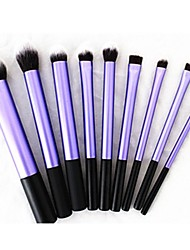9 Makeup Brushes Set Synthetic Hair Face / Lip / Eye Sedona
