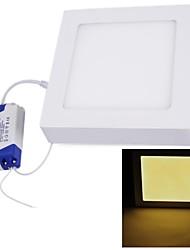 12W Lâmpada de Teto Encaixe Embutido 60 SMD 2835 1000 lm Branco Quente AC 85-265 V