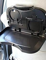 Multifunction Car Back Seat Baby Bottle Food Drink Cup Folding Tray Holder Black
