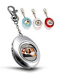 Mini 1.5 Inch Egg Shape Digital Photo Frame with Key Ring