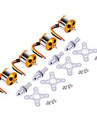 A2212 930KV Outrunner Brushless Motor für RC Flugzeuge (4 Stück)