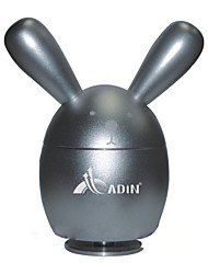 reallink®360 ° HiFi-Surround-Sound-Mini-Aluminium-Legierung portable Lautsprecher (unterstützt Micro-SD-Karte / FM-Radio) Kaninchen (5color)