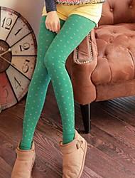 Women's Blue/Black/Brown/Green/Purple Skinny Pants , Bodycon/Cute