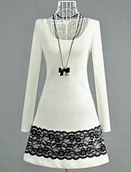 ICED® Women's Lace Long Sleeve Mini Dress