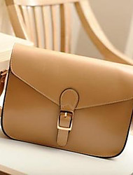 New Porting Women's Korean Style Preppy Style Pu Leather Shoulder Bag 30*25*5Cm