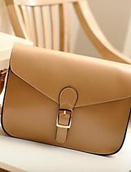 style preppy style coréen pu sac à bandoulière en cuir de nouveaux portage femmes de 30 * 25 * 5cm