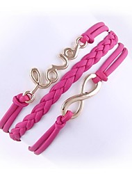 (1 Pc)Fashion 4.9cm Women's Alloy Chain & Link Bracelet