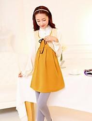 Maternity Wear Fashion Lace Vest Dress Cute Simple Sleeveless Dress