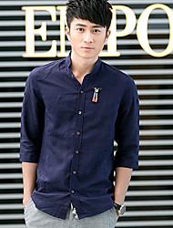 gabiers novo azul fahsion estilo camisa cabida