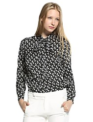 ASOBIO New Women's Shirt  CollectionLong Sleeve Blouse With Stock Tie