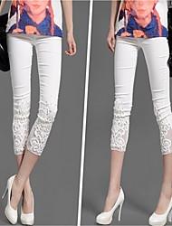 Pantalones (Algodón)- Casual Mujer