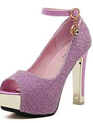 Nicy Women's Elegant Open Toe Heels
