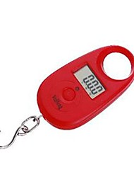 draagbare handheld digitale elektronische weegschaal keukenweegschaal 25g / 5g (willekeurige kleur), plastic 8x4.3x2cm