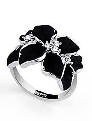 Alloys Plating Finger Ring for Women  Silver