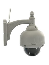Sricam® PTZ Wireless WaterProof Outdoor IR P2P IP Camera With 3X Optical Zoom And IR-Cut Free P2P