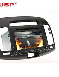 """cusp® 7 """"lecteur DVD de voiture 2DIN pour Hyundai Elantra 2007-2011 GPS de soutien, Bluetooth, RDS, jeu, ipod"""