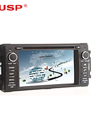"cusp® 6.2 ""2 DIN bil DVD-afspiller for 2007-2010 jeep / kommandør / Wrangler med Bluetooth, GPS ipod, rds, can-bus"