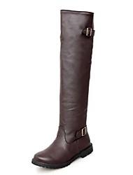 botas de couro sapatos de qq forma stiletto calcanhar das mulheres mais cores disponíveis
