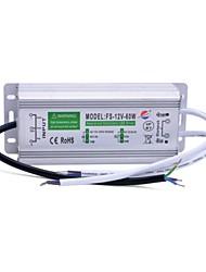 xinyuanyang® fs-12v-60w impermeable externa 60w llevó la fuente de alimentación -plata conductor (110 ~ 250v)