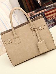 Mandy Women's Simple Tote(Almond)