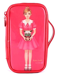 Lovely Cosmetic Bag with Girl Picture