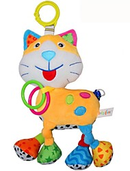 Babyfans ™ Baby Cute Cat Cartoon Shaped Plush Voice Puppet Educational Toys