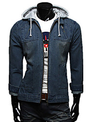 Fashion Hoodie Denim Jacket
