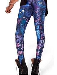 Women's Fashion Owl Leggings