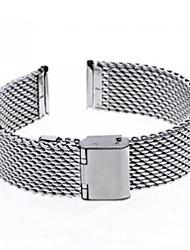 Unisex Thick Mesh Steel Watch Band Strap 110MMx18MMx3MM Cool Watch Unique Watch