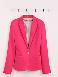 ASDS Womens One Button Suit In Candy Color