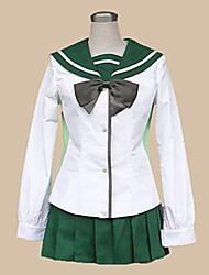 Highschool of the Dead Fujimi High School Girls' School Unifrom Cosplay Costume