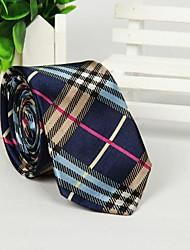 multicolor homens cruzou a impressão oblíqua faixa gravata na moda casual