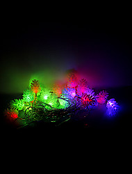 4M 20 LEDs Christmas Halloween decorative lights festive strip lights-Echinacea (220V)