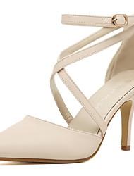 Лобо женская мода крест повязку тонкий каблук сандалии