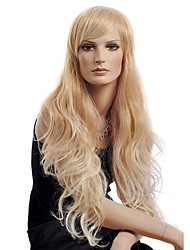 Golden High Quality Long Curly Hair Wig